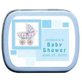 Baby Stroller Baby Shower Mint Tin Favors