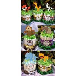 Baby Animal Diaper Cake