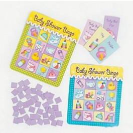 Baby Shower Bingo Game (8 players)