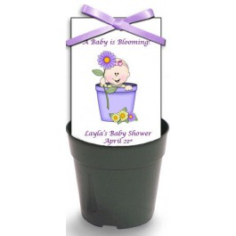 Personalized Baby Shower Seed Packet Set