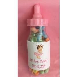 Little Princess Fillable Baby Bottle Baby Shower Favors