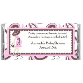 Personalized Diva Mommy Candy Wrapper (Pink or Blue)
