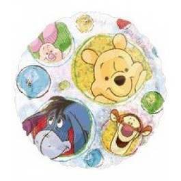 """18"""" Winnie the Pooh Holographic Party (Mylar Ballooon)"""