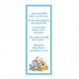 Personalized Classic Pooh or Baby Pooh and friends Laminated Bookmark