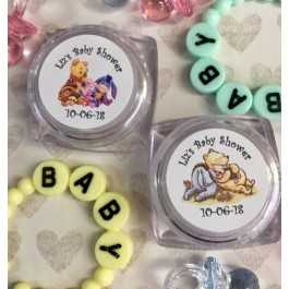 Personalized Baby Pooh or Classic Pooh & Friends Lip Balm (Set of 12)