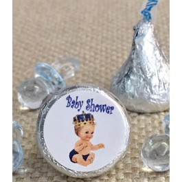Vintage Little Prince  Hershey Kisses Label Caucasian or African American (Set of 105 labels)