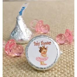 Little Princess Hershey's Kiss Stickers