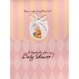 Baby Pooh Keepsake Registry-Pink