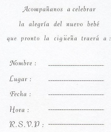 Spanish Baby Shower Invitations for best invitations template