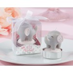 Little Peanut Elephant-Shaped Candle in Pink or Blue  (Set of 4)