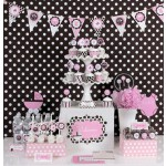 Pink Baby Shower Mod Party Kit 