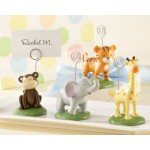 &quot;Born To Be Wild&quot; Animal Place Card/Photo Holders (Set of Four Assorted)