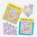 Baby Shower Bingo Game (8 players)