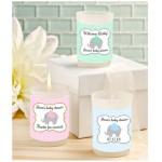 Personalized Baby Elephant Candle