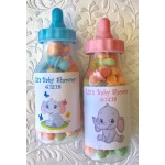 Personalized Baby Elephant Bottle (Pink or Blue)