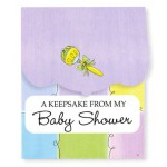 Baby Shower Keepsake Registry (Pastels)