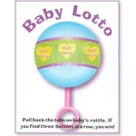 """Baby Lotto"" Baby Shower Game (Pickle Game)"