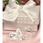 Crystal Pacifier Baby Shower Favor