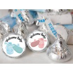Baby Bootie Hershey  Kisses Labels (105 per sheet)
