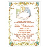 Personalized Peter Rabbit Baby Shower Invitation
