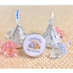 Personalized Winnie The Pooh Baby Shower Hershey Kisses Labels (Set of 105)