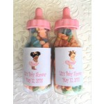 Vintage Little Princess Personalized Fillable Baby Bottle (Caucasian or African American)