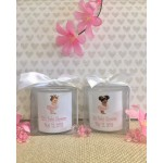 Personalized Vintage Princess/Prince Candles (Caucasian or African American)