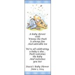 Personalized Winnie the Pooh Baby Shower Bookmarks 