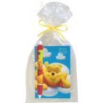 Libreta de Apuntes y Juego de Lápices de Pooh
