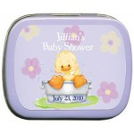 Baby Duck in Tub Mint Tin Favors 