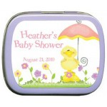 Baby Duck Umbrella Mint Tin Favors
