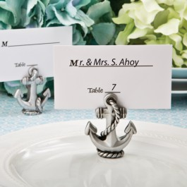 NAUTICAL ANCHOR PLACE CARD / PHOTO HOLDER