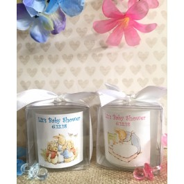 Personalized Peter Rabbit Candles (3 Designs)