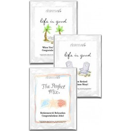 Retirement Personalized Lemonade Mix Favors