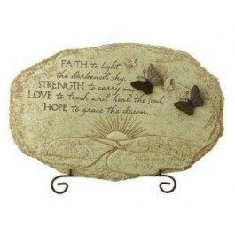 Butterfly Design Stepping Stone Sympathy Gift
