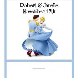 Cinderella Wedding Mint Favor