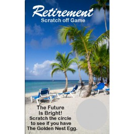 Retirement Scratch Off Game Cards (Set of 24)