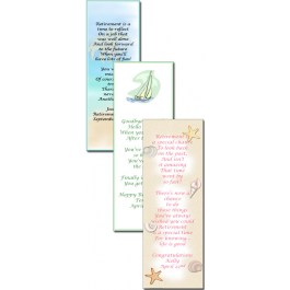 Retirement Bookmark Favor  (Rosemary Exclusive!)
