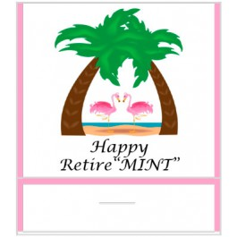 Retirement Mint Favors