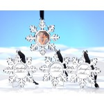 Snowflake Place Card Frame/Ornament