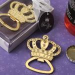 MAKE IT ROYAL GOLD METAL CROWN DESIGN BOTTLE OPENER