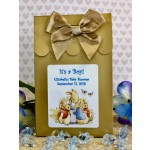 Personalized Peter Rabbit Baby Boy Candy Bags (Set of 12)