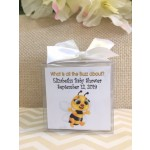 Personalized Baby Bee Candle (3 Colors)