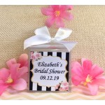 Personalized Kate Spade Inspired Bridal Shower Candles