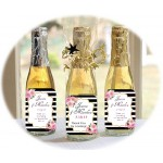 Kate Spade Inspired Personalized Wine Bottles