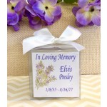Personalized Memorial Candle