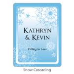 Personalized Bridal Margarita Mix-Snow Cascading