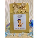 Vintage Little Prince Personalized Candy Bags Caucasian or African American