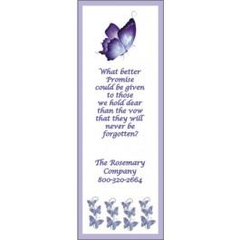Personalized Memorial Bookmark