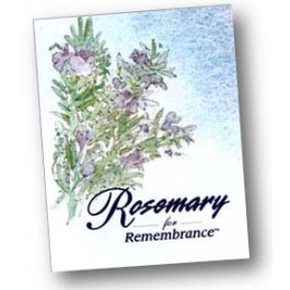 Pack of 50 Memorial Packets (Rosemary Exclusive!)